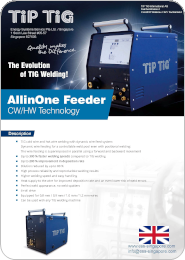 TiP TiG AllinOne Wire Feeder PDF